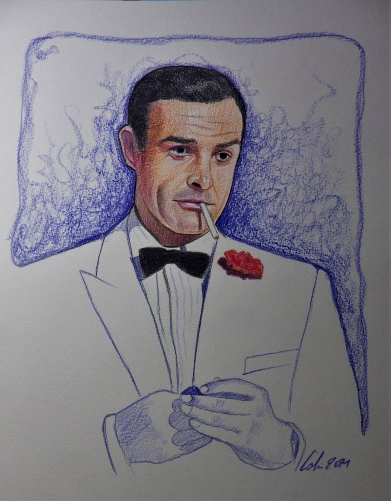 Sean Connery by stephane014